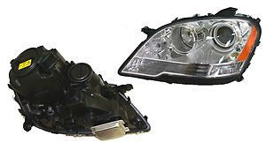 Mercedes Benz ML320 ML350 ML550 ML63 Headlight Assembly Left Hella