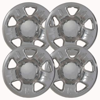 "4pc Set 02 06 Ford Explorer 16"" Chrome Wheel Skins Hubcaps Covers Hub Cap 5spoke"