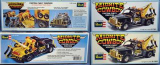 Midnight Cowboy Custom Chevy Wrecker Revell 1 25 Tow Truck Model Kit Mint Cmplt