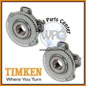 TIMKEN 2 Front Wheel Bearing Hub Assembly Fits Chevy Tracker Suzuki Vitara XL 7