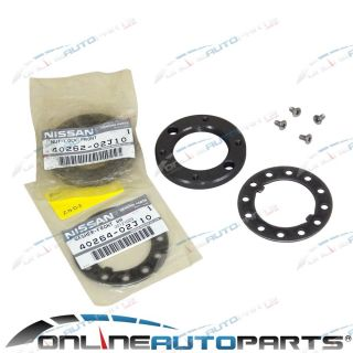 Front Wheel Bearing Hub Axle Lock Nut Washer Kit Nissan Patrol Y61 Safari