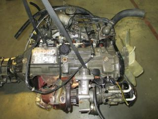 Toyota Tacoma T100 4Runner Hilux Pick Up JDM 2L T Turbo Diesel Engine 2Lt Trans