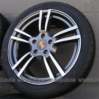 "20"" Porsche Cayenne Turbo VW Touareg Wheels and Yokohama Tires Package 4 New"