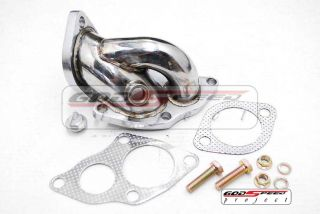 Eclipse Talon 4g63 1g 2G DSM GST GSX Turbo Stainless Steel Downpipe Elbow New