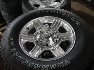 "4 17"" Dodge RAM 2500 8 Lug Alloy Wheels Rims Firestone Tires at 2384"