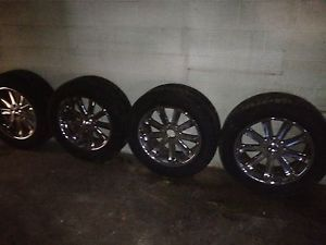"Wheels Tires 5 Lug 20"" R IMS Tires Fits Ford Expedition Has New Tires"