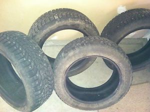 Bridgestone Winterforce Studded Snow Tires 205 55R16 91S Local Pick Up Idaho