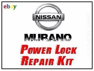 Nissan Murano Power Door Locks Actuator Lock Motor Repair Kit Fix SmartKey