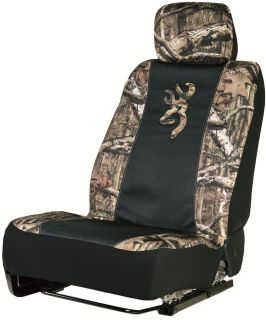 Mossy Oak Infinity Browning Universal Camo Seat Cover Low Back Seat Cover
