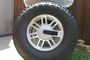 "Hummer H3 Machined 16"" Alloy Wheels Tires Factory"