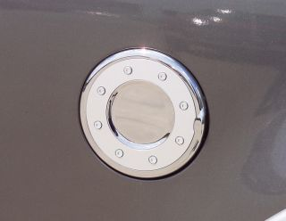 Chrome Fuel Door Cover