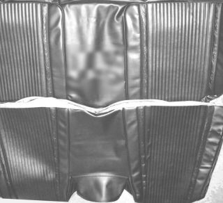 1966 Plymouth Satellite Hardtop Rear Seat Cover