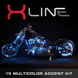 EFX x Line Million Color LED Accent Lights Victory Motorcycle Engine Light Kit
