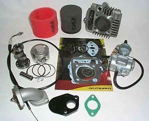 Honda Trail Bike 88cc Big Bore Kit Pit Z50 88 99 Mini 2000 XR CRF50 20mm Carb