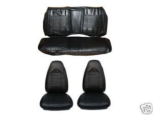 1970 70 Challenger Front Rear Seat Cover Set