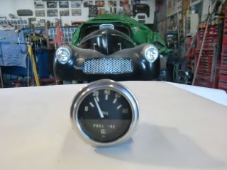 Vintage Stewart Warner Gauge Oil Pressure Willys Ford Chevy Rat Rod Gasser