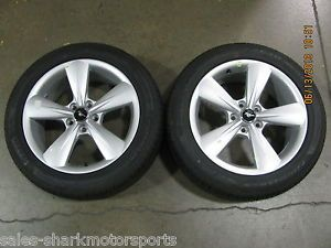 Ford Mustang Wheels Rims 18 x 8 Pirelli Tires 235 50 Pair of 2
