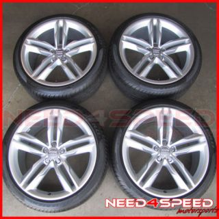 "20"" Factory Audi S7 A7 Forged Wheels Rims Pirelli Tires Made by Speedline"