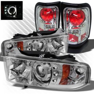 01 Dodge RAM 1500 Tail Lights