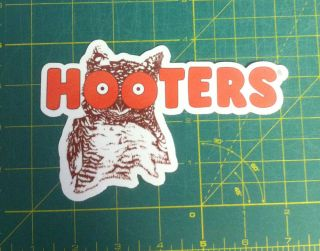 2 Hooters Drink Bar Fun Truck Car Decals Stickers  Sell One