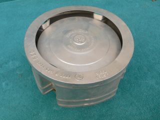 "5"" Americap Aluminum Gas Vent Cap Used Very Good Condition"