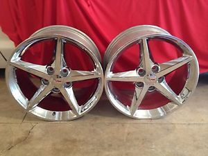 C6 Corvette Chrome Speedline Wheels
