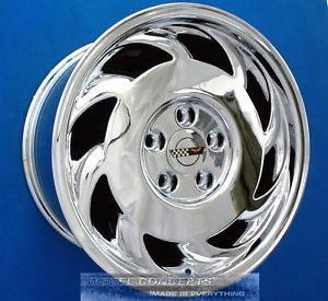 Corvette C4 17x9 5 17 inch Chrome Wheel Exchange '91 92