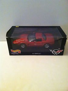 Hot Wheels C5 Corvette 1 18 Scale Candy Red Paint