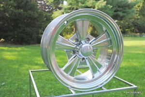 "15 x 7 Rocket ""Strike"" Hot Rod Mag Chevy Ford Wheels"