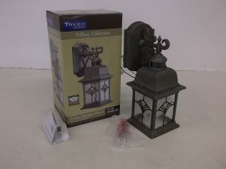 Progress Lighting Tiffany Collection Outdoor Wall Motion Lantern Light P5993 50