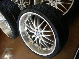 "20"" BMW Wheels Rim Tires 750i 750LI 760i 760LI x5 x6 M"