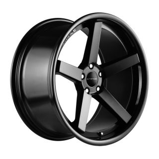 "19"" Stance SC 5IVE Wheels Matte Black Mercedes C Class C250 C300 C350 C63 AMG"