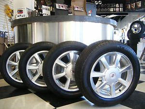 "17"" inch Cadillac cts Wheels w 235 55 17 Michelin MXV4 Tires"