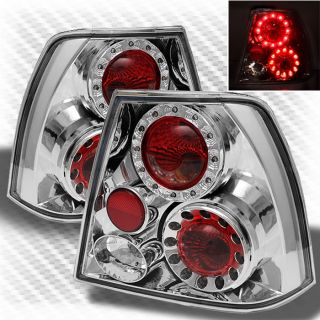 1999 2004 Volkswagen Jetta LED Tail Lights Lamps Brake Pair Taillights New Set