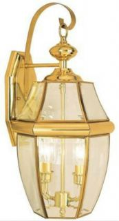 Hampton Bay Exterior Wall Lantern Light Fixture 240865