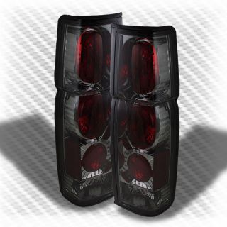 Smoked 86 97 Nissan Hardbody altezza Tail Lights Rear Brake Lamp Smoke Pair Set