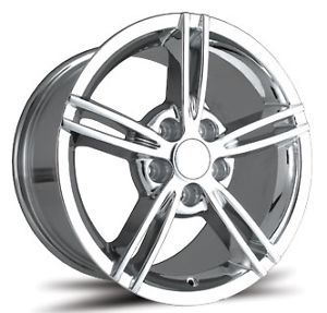"New 19"" OE Concepts 08 Corvette C6 Chrome Wheels"