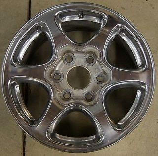 "GMC Sierra Yukon Denali Factory 17"" Polished Wheel Rim 5132 1"