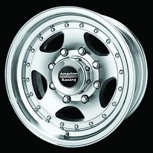 16 inch AR23 8 Lug Wheels Rims Dodge HD RAM Chevy Ford Truck 16x8 8x6 5 New