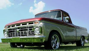 1965 Ford F 100 Shortbed 6' Pickup Truck V8 Restored Hot Rod Street Rod