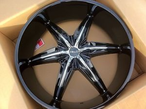 "26"" Helo 866 Rims Tires 6x135 139 Chevy GMC Ford F150 Nissan Titan 295 30 26"