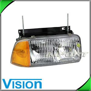 Passenger Right Side Headlight Lamp Composite Assembly 1995 97 GMC Jimmy Sonoma