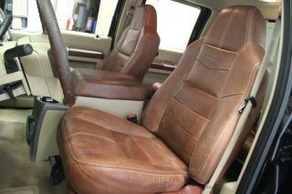 2008 Ford Super Duty F 250 King Ranch 4x4 Crew Cab