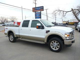 Ford F 250 Crew Cab King Ranch Diesel 4x4 Fac 20's Short Bed Dodge Chevrolet