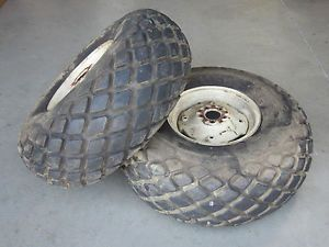 154 Cub IH Lo Boy 184 185 Rear Goodyear Turf Tires Rims 13 6 16