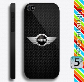 Mini Cooper British Car Durable Plastic Case for iPhone 5 5S