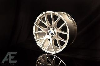 19 inch BMW 740i 740LI 750i 750LI Wheels Rims and Tires Type 111 Silver