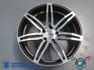 "Four 10 14 Camaro 04 13 BMW 5 Series Axis Angle 20"" Staggered Wheels Rims"