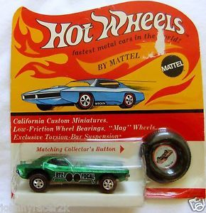 Bye Focal in BP Hot Wheels Green Original Redline HW 5 Day