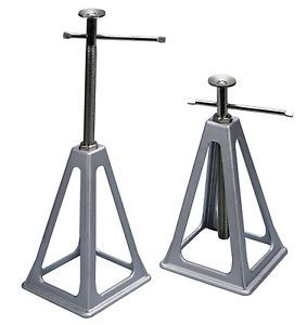 Jack Stands Heavy Duty Aluminum Set Floor Lift Shop Garage Trailer Stabilizing